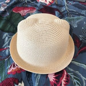 Accessories - Summer straw hat with ears